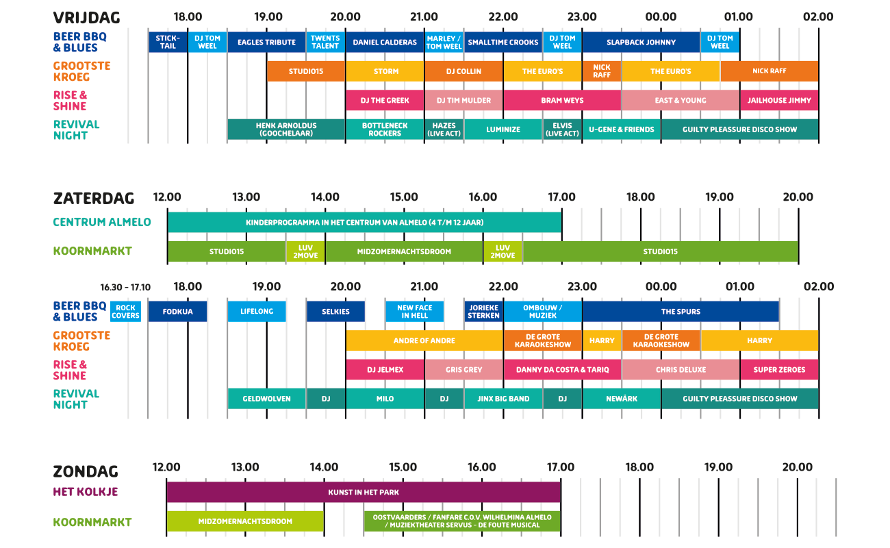 Time Table 2019
